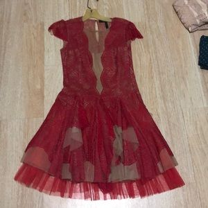 Cap sleeve BCBG dress! Perfect condition. Like new